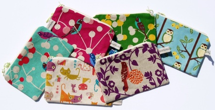 Hand Made colourful Purses by Quirky Genius