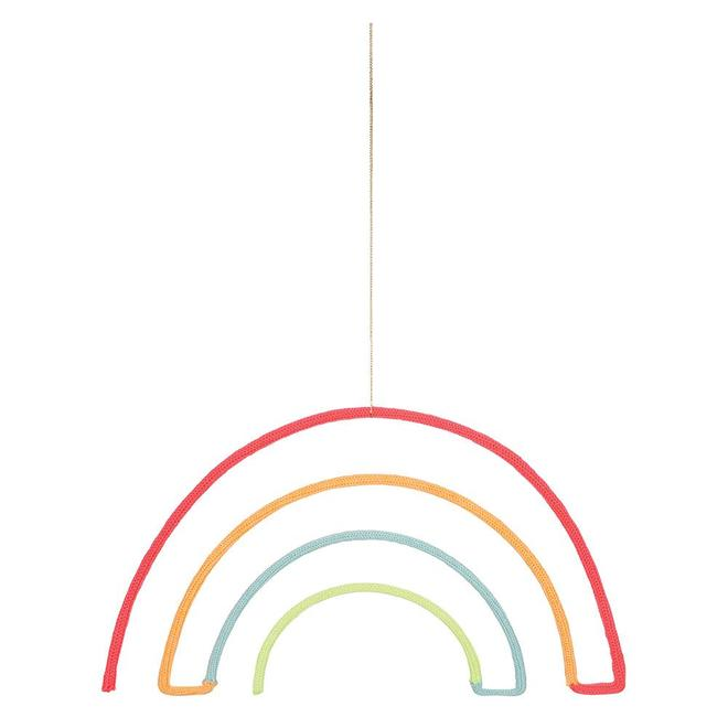 Rainbow Hanging Decoration By Meri Meri