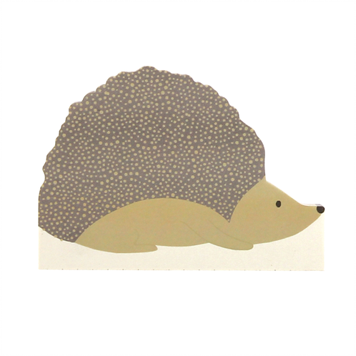 Hedgehog Shaped Notepad by Sara Miller