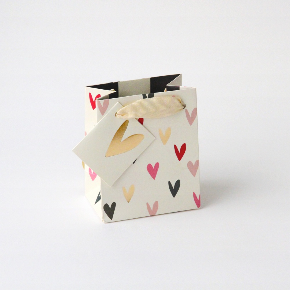 Scattered Heart Petite Gift Bag Caroline Gardner
