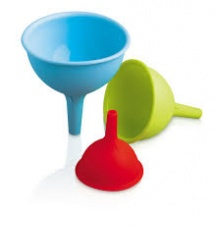Colourful Silicone Funnel Set CKS Zeal
