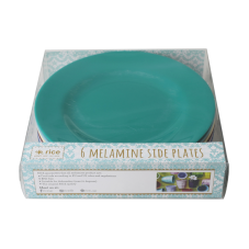 Set of 6 Melamine Side Plates Urban Collection By Rice DK