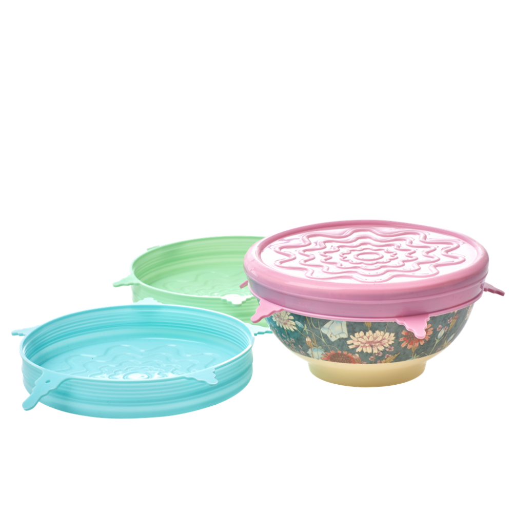 Silicone Lid For Melamine Bowl By Rice DK