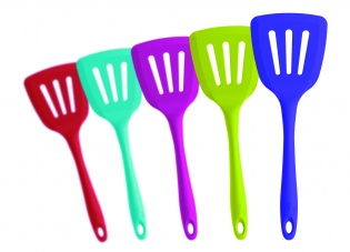 CKS Zeal Colourful Silicone Flexible Cooks Turner