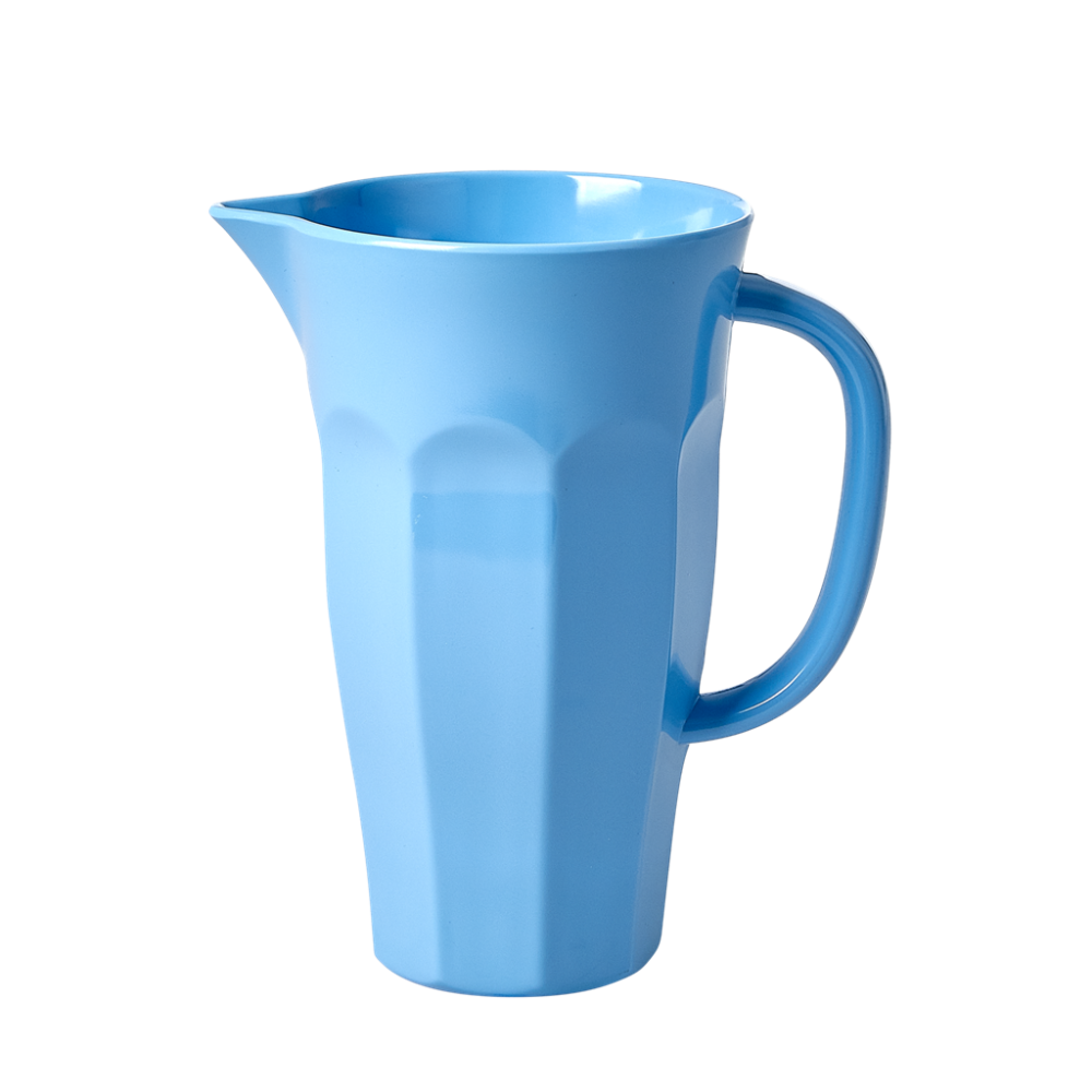 Sky Blue Small Melamine Jug 1L By Rice DK
