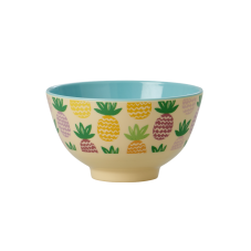 Pineapple Print Small Melamine Bowl Rice DK