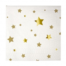 Gold Star Small Paper Napkins By Meri Meri