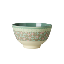 Small Mini Floral Print Melamine Bowl By Rice DK