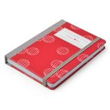 Gardners Notebook Raspberry Print by Sophie Conran