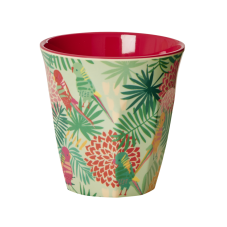 Colourful Tropical Print Melamine Cup By Rice DK