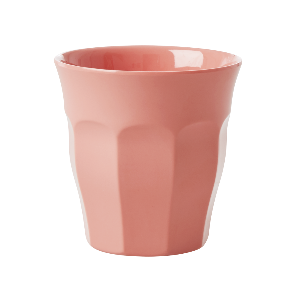 True Coral Melamine Cup By Rice DK