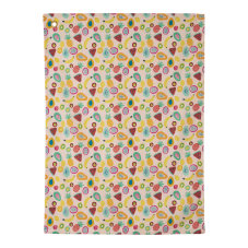 Tutti Frutti Print Kitchen Tea Towel By Rice DK