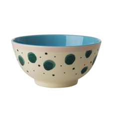 Watercolour Splash Print Melamine Bowl Rice DK