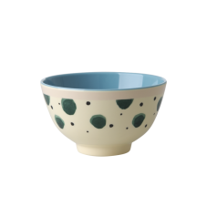 Watercolour Splash Print Small Melamine Bowl Rice DK