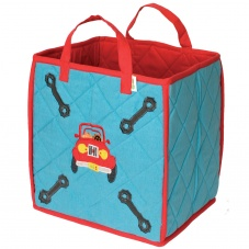 Win Green Red & Blue Garage Toy Bag