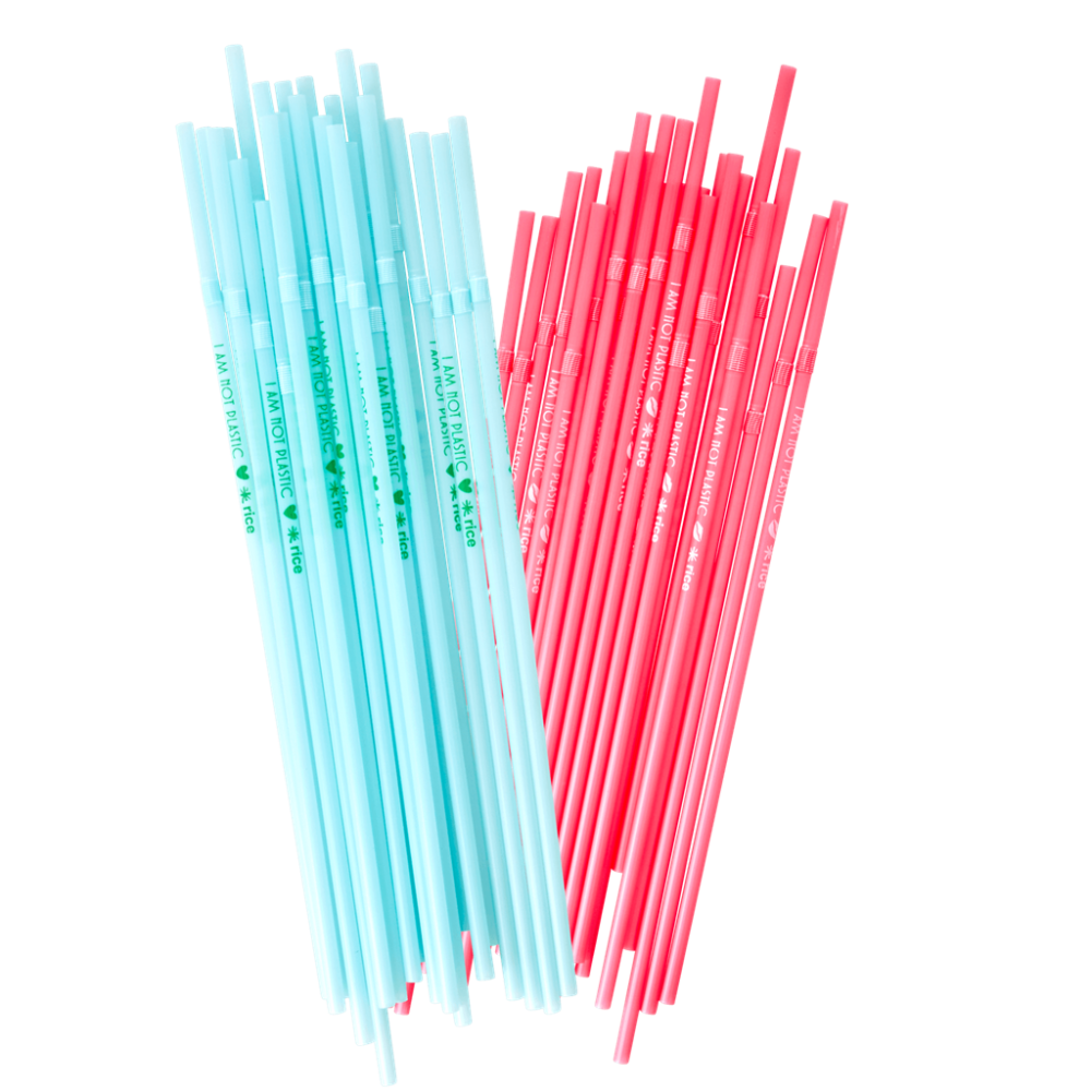 Biodegradable Straws By Rice DK