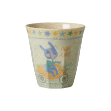 Boy Racing Print Melamine & Bamboo Small Cup Rice DK