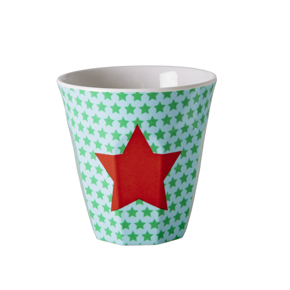 Kids small melamine cup blue star print by rice dk - Cups and kids ...