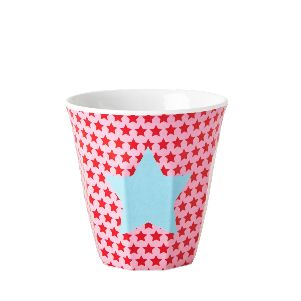 Small Pix Of Large Cups To : Girl melamine small cup with pink star print rice dk