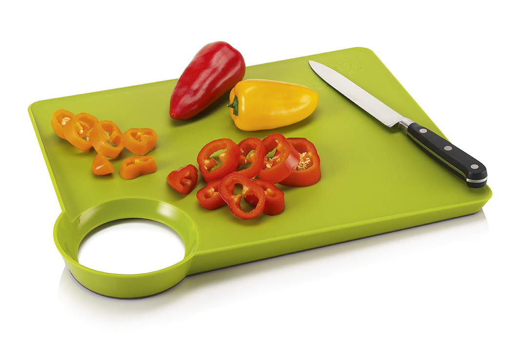 Chopping Board Straight To Pan Non Slip Cks Zeal Vibrant