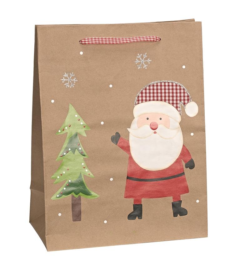 Christmas Gift Bag - Father Christmas - Vibrant Home