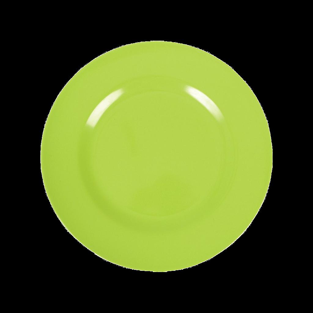 green melamine side plate kids plate rice dk vibrant home