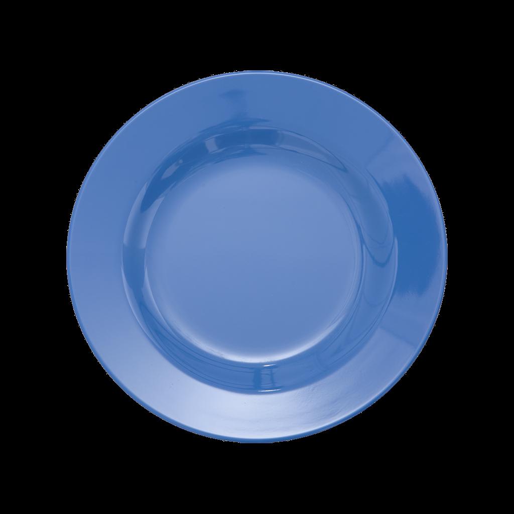 New Dusty Blue Melamine Side Plate Kids Plate Rice Dk