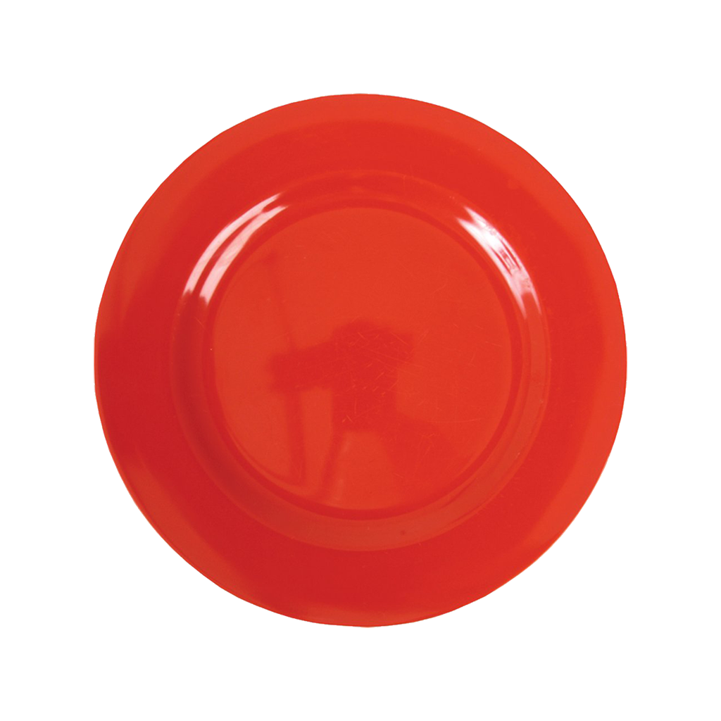 Red Small Melamine Side Plate Kids Plate Rice Dk Vibrant