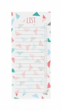 Slim Lined To Do List Pad