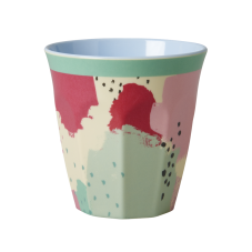 Colourful Splash Print Melamine Cup Rice DK