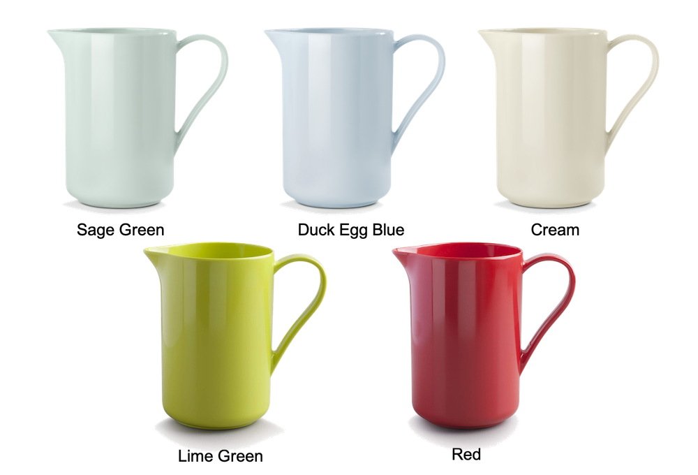 Colourful Melamine Jug by CKS Zeal non slip base
