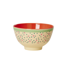 Connecting The Dots Print Small Melamine Bowl By Rice DK