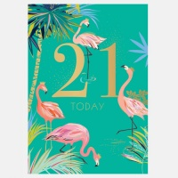 21st Birthday Card By Sara Miller London