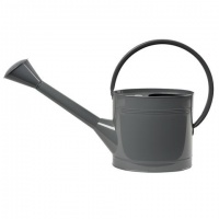 5 Litre Slate Grey Watering Can By Burgon & Ball