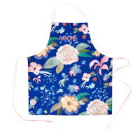 Apron With Selma's Fall Flower Print By Rice DK