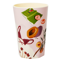 Australian Summer Print Melamine Tall Cup By Rice DK