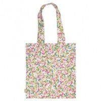 Ditsy Print Cotton Canvas shopping bag  Caroline Gardner