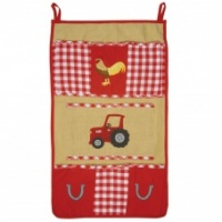Win Green Red Barn Wall Organiser