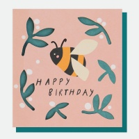 Bee Happy Birthday Card By Caroline Gardner
