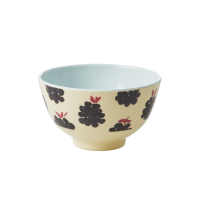 Blackberry Print Small Melamine Bowl By Rice DK