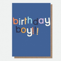 Birthday Boy Card By Caroline Gardner