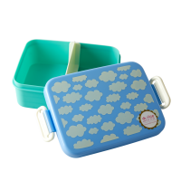 Blue Cloud Print Lunchbox By Rice DK