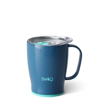 Blue Denim Coloured 18oz Mug By SWIG