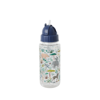 Jungle Blue Print Water Bottle By Rice DK