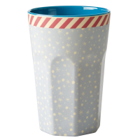 Snowflake Print Tall Melamine Cup By Rice DK