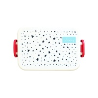 Blue Star Print Lunch Box By Joules