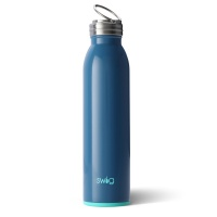 Blue Denim Coloured 20oz Water Bottle By SWIG