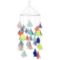 Bright Tassel Chandelier By Meri Meri