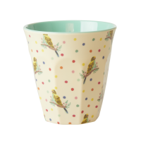 Budgie Print Melamine Cup By Rice DK