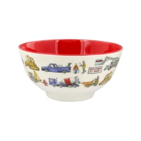 Emma Bridgewater Builder At Work Print Melamine Bowl